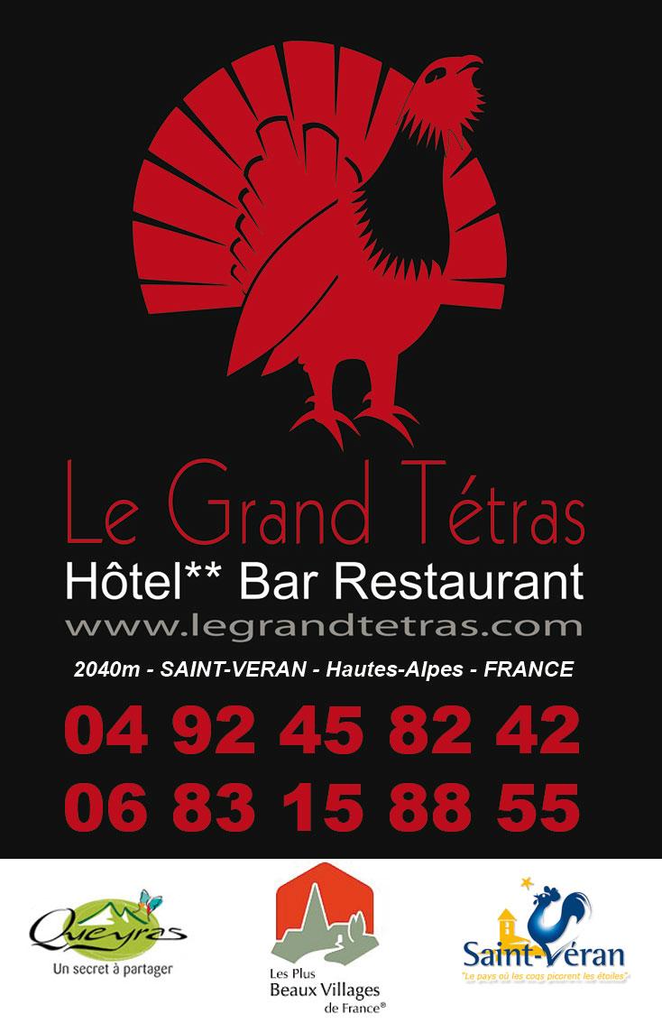 Hotel ** Le Grand Tétras – St Véran